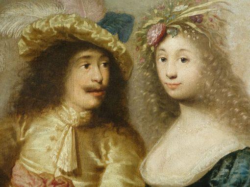 paintings Aristocrates Attribue Jacob Van Der Merck antiquites la credence paris