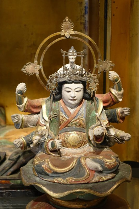 Autel Japonais Antiquités la Crédence Antiquaire Paris
