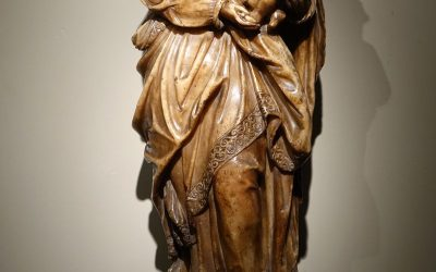Virgin and Child in Alabaster 16th Century