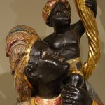 Pair of 19th Century Venetian torchbearers