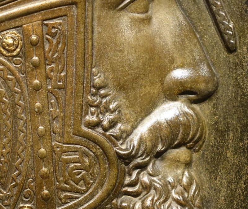 Sculpture Regule Portrait de profil Qadjar Antiquités la Crédence Antiquaire Paris
