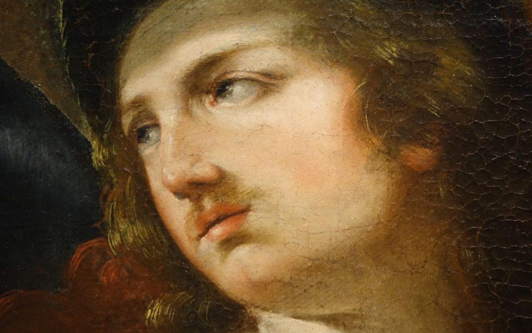 tableau Alexandre et Timoclée _antiquites la credence paris