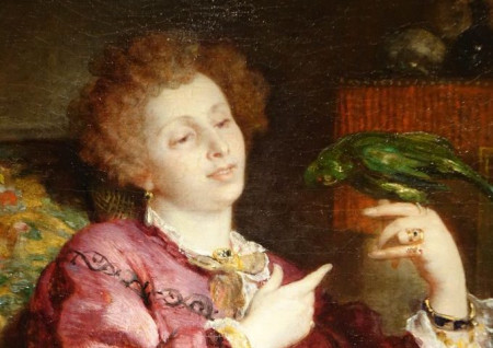 tableau V de Bornschlegel antiquites la credence paris
