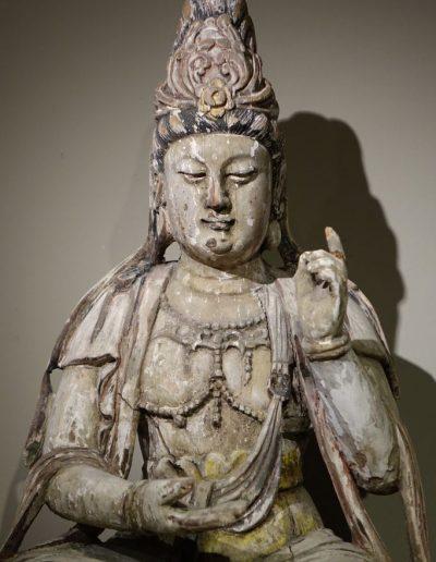 Sculpture Guanyin, Chine XIXe siècle