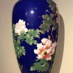 Grand vase en cloisonné, Japon époque Meiji 1900-1910