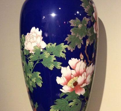 Cloisonné Vase,Japan Meiji period la credence antique store paris