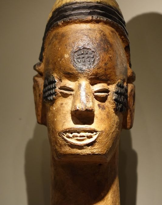 Sculpture- Igbo -la Credence Antiquaire A Paris