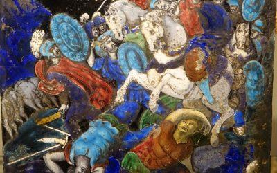 Plaque Limoges 16e-17e siècle