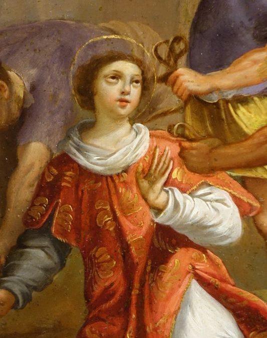 tableaux TONDO 03218_Antiquites La Credence antiquaire a Paris