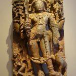 Stone sculpture the God Shiva, South India ,13th century