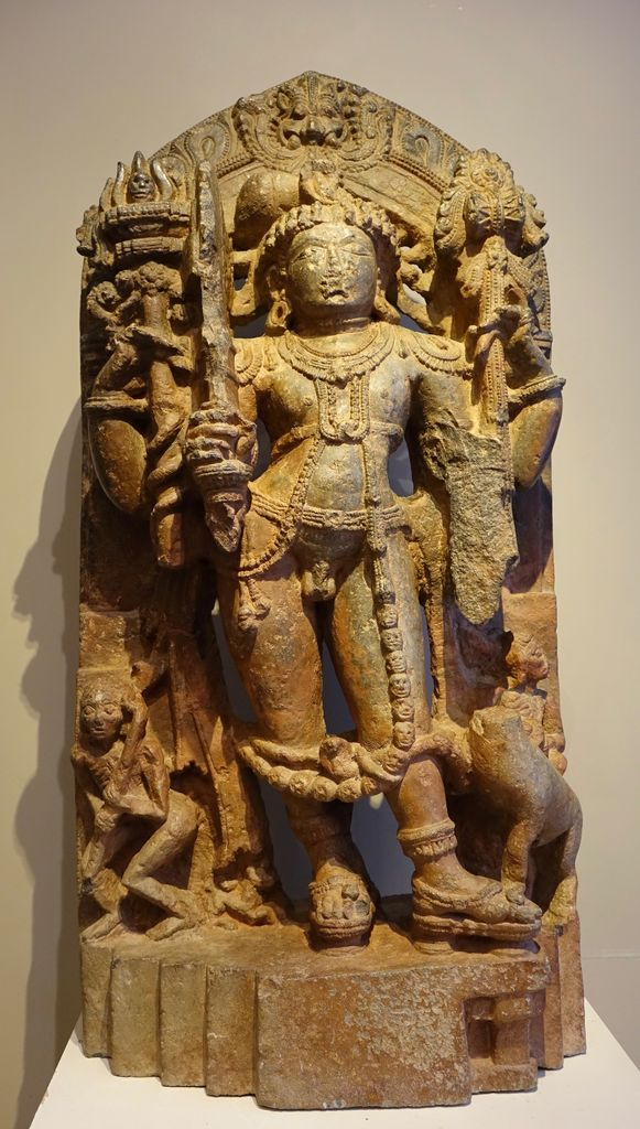Stèle de Shiva Inde du Sud XIIIe siècle