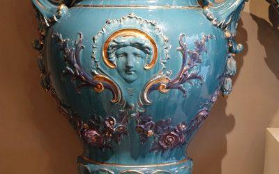 Mobilier Paire de grands vases Medicis , France circa 1890