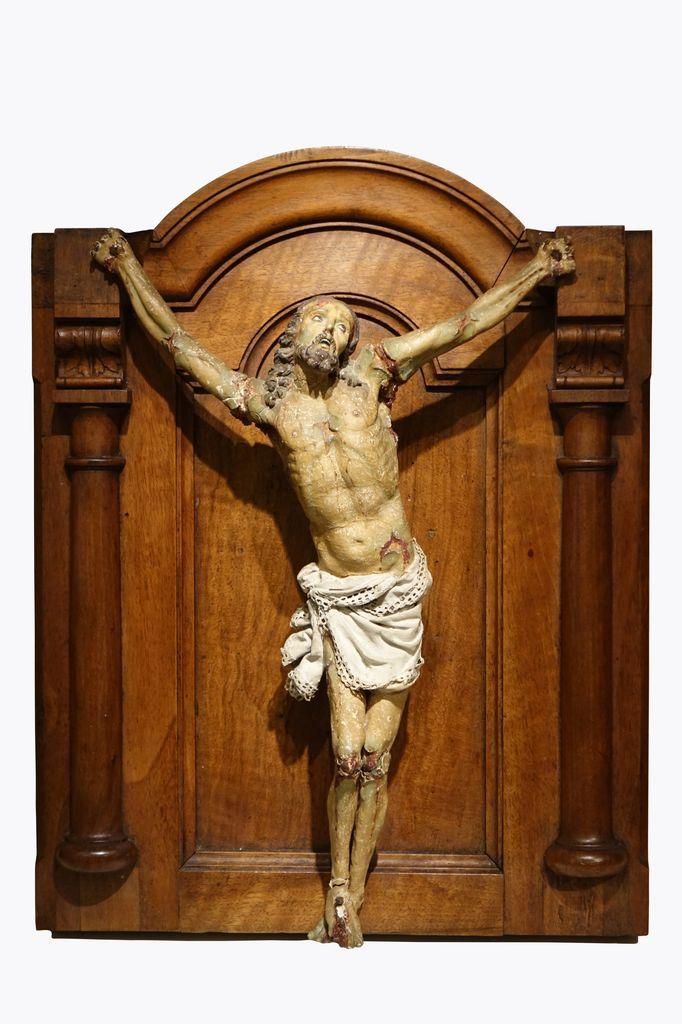 Corpus Christi, papier mâché, Espagne 18e siècle