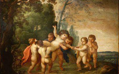 L'Enfance de Bacchus – Flandres 17e siècle