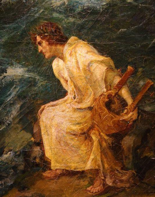 Tableau La naissance de Vénus - Jules Alphonse TOULOT (1863-?)