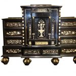 Important Cabinet with 17 drawers Germany 18th century