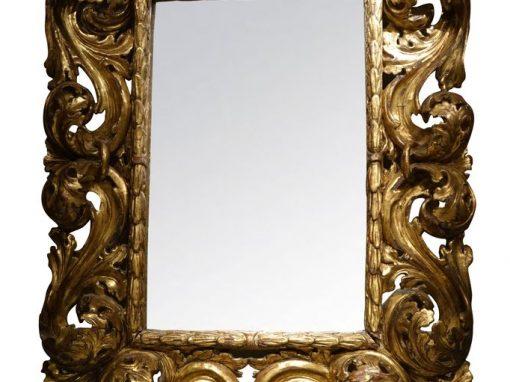 18th Century Italian Mirror antique store la credence paris