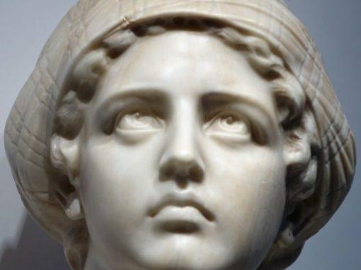 Judith Alabaster Guiseppe BESSI ( 1857-1922) antique dealer la credence paris