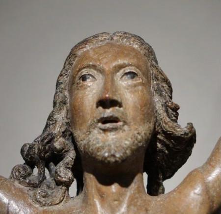 Sculpture-Christo-Vivo-La-Credence-Antiquaire-A-Paris-