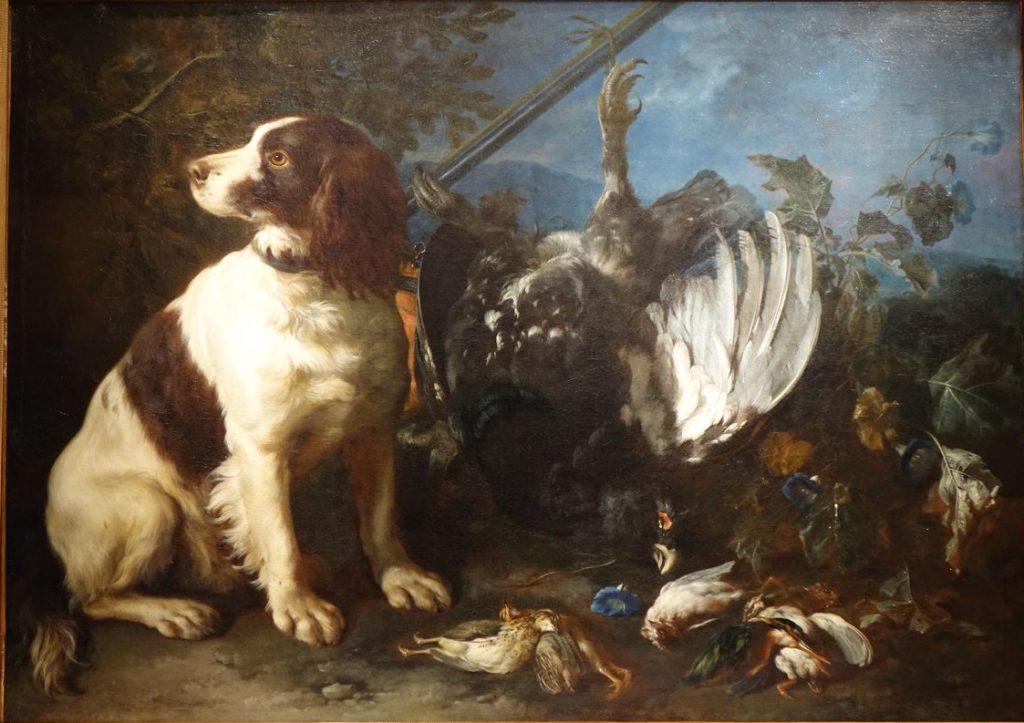 tableau 18eme Franz Werner Von Tamm 3 antiquites la credence paris