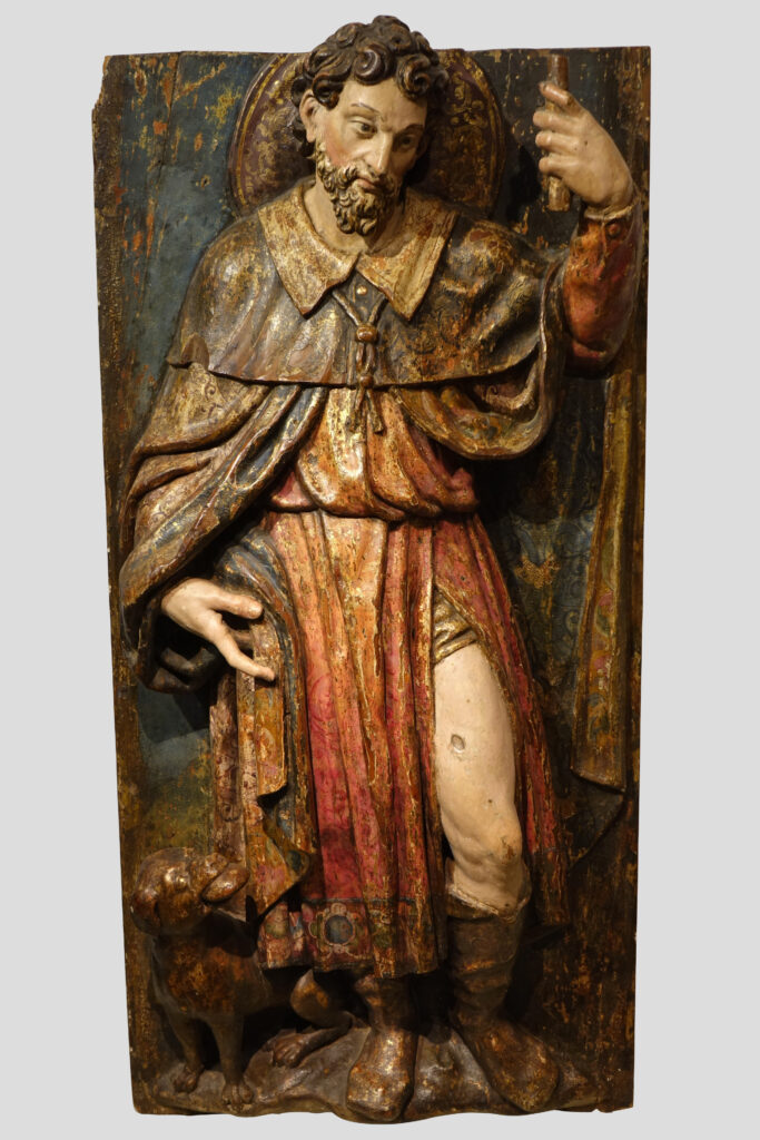 Saint Roch Spain late 16th - early 17th century la credence antiques paris