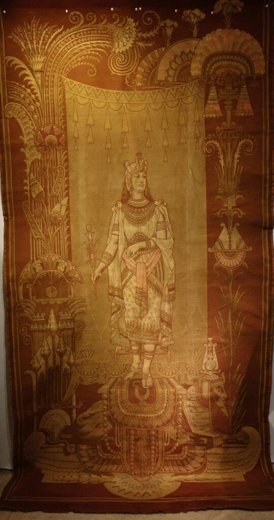 Objets d'art Portiere Orientaliste 19e siecle la credence paris