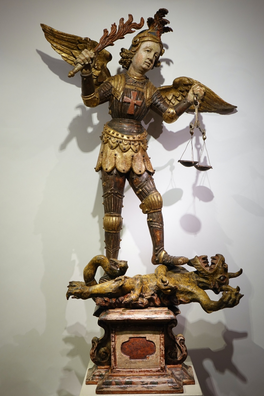 Saint Michael the Archangel, Southern Germany or Italy la credence antiques paris