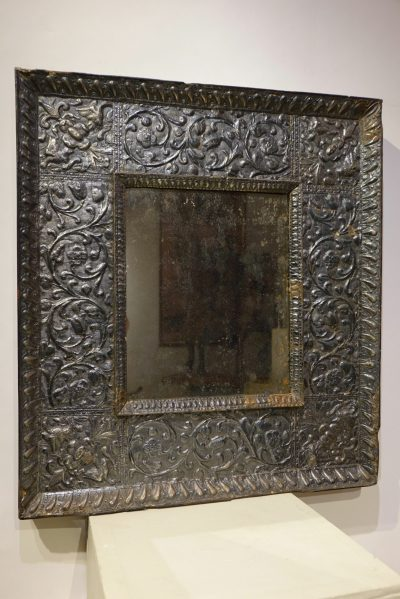Mirror with a silver sheet applied. Venice,16th c. la credence antiques paris