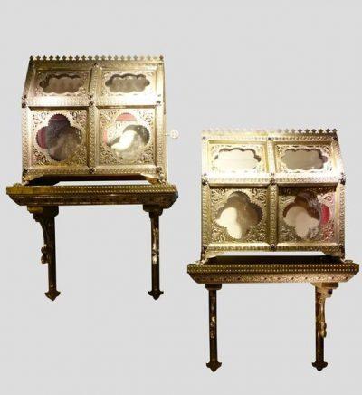 Objets D Art Chasses Reliquaires 4 La Credence Antiquaire A Paris