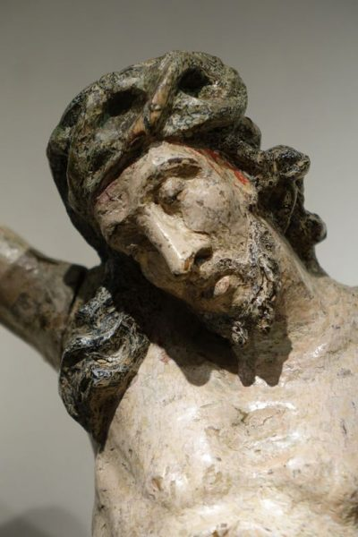 Large Christ,France 18th century La Credence antique dealer in Paris