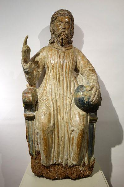 Sculpture Christ En Gloire 17 La Credence Antiquaire A Paris