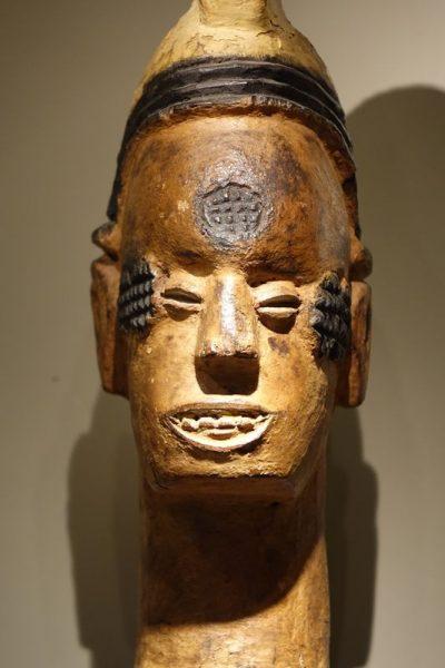 Sculpture- Igbo -la Credence Antiquaire A Paris