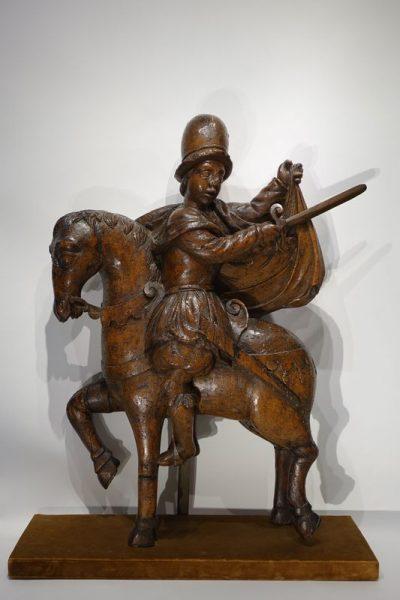 Saint martin sur son cheval 16e siecle la credence paris