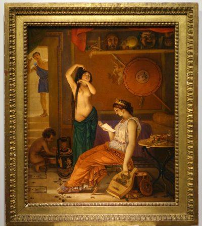 Actors in ancient Greece