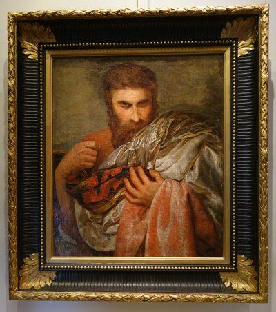 Portrait Of An Actor, French School, 19th C. la credence antiques paris