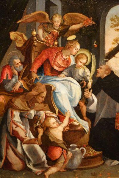 Tableaux Paire De Cuivres Martyr Italie 16 Siecle 20 La Credence Antiquaire A Paris