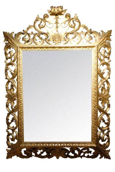 mobilier-grand-miroir-bois-doré-1-antiquites-la-credence-paris